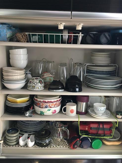 家事 食器棚