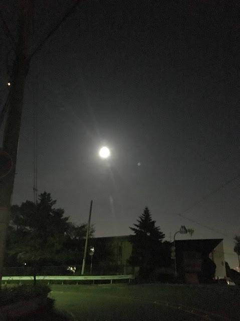 18年10月24日満月
