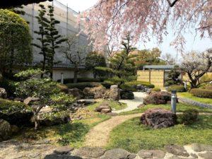 郷土館 日本庭園