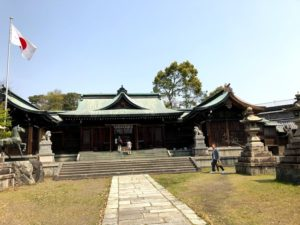 大垣城 近くの神社 2