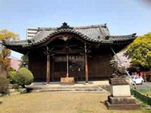 大垣城 近くの神社 1